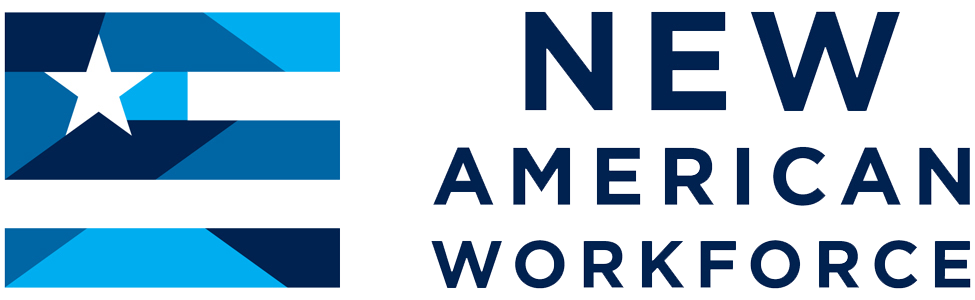 New American Workforce Logo - Transparent