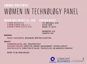 Women in Tech Panel 8.28.2019