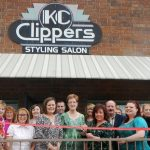 KC Clippers Styling Salon New Member Ribbon-Cutting
