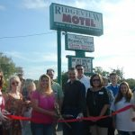 Ridgeview Motel New Member Ribbon-Cutting