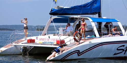 Spirit of America charter boat