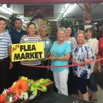 AJ's Wood Door Flea Market New Member Ribbon-Cutting