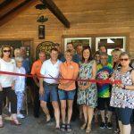 Crest Lodge New Member Ribbon-Cutting