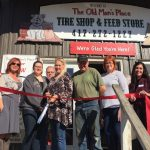 Old Man's Place New Member Ribbon-Cutting