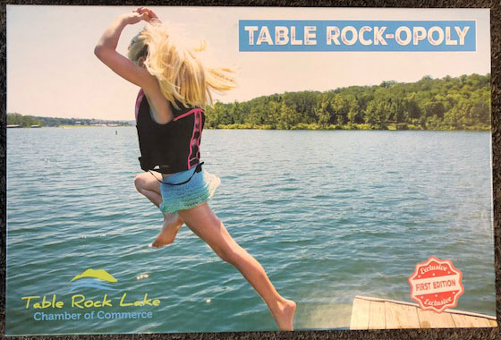 Table Rock-Opoly box