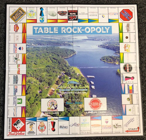 Table Rock-opoly board