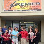 Premier Boat Sales New Member Ribbon-Cutting