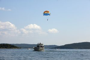 Parasailing Table Rock Lake