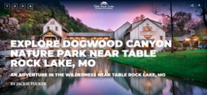 EXPLORE DOGWOOD CANYON NATURE PARK NEAR TABLE ROCK LAKE