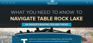 WHAT YOU NEED TO KNOW TO NAVIGATE TABLE ROCK LAKE