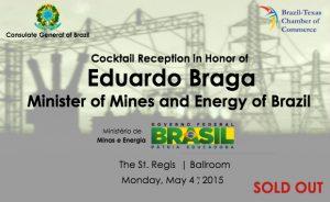 Reception: Minister Eduardo Braga
