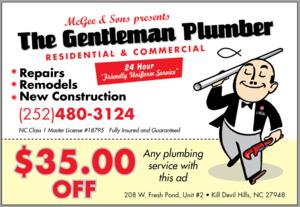 The Gentleman Plumber