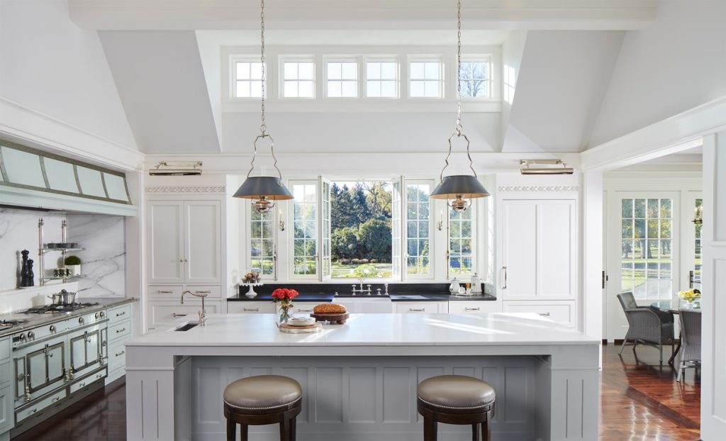 Kitchen remodel featuing windows