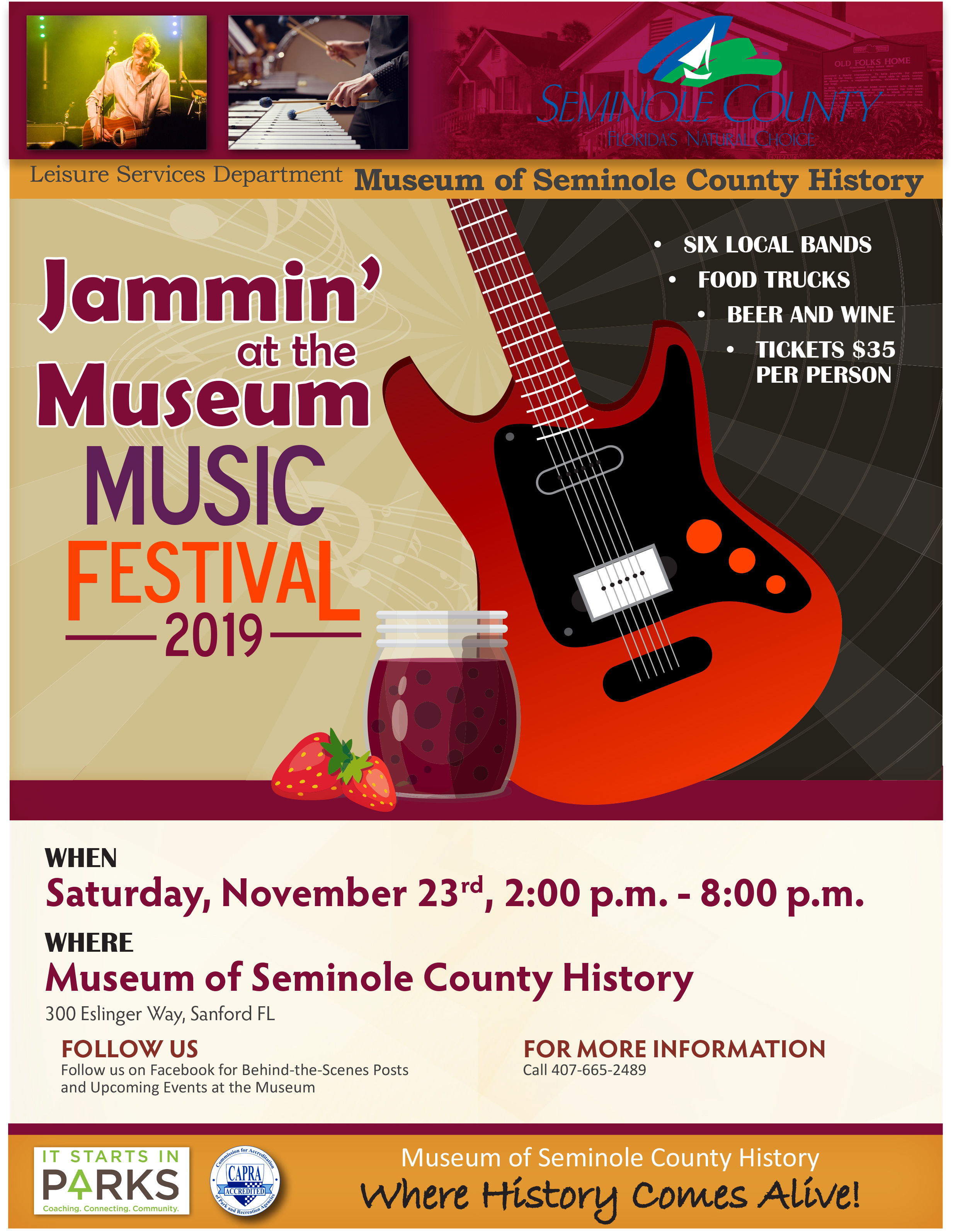 Jammin At The Museum Greater Sanford Regional Chamber Of Commerce